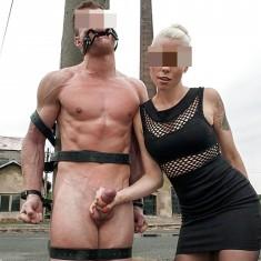 Villeurbanne, Maitresse blonde tatouée sans tabou